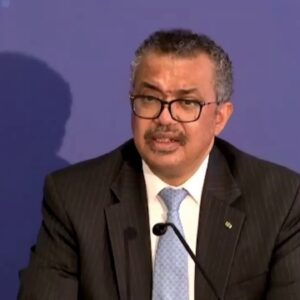 Media briefing on the new WHO Hub for pandemic & epidemic intelligence with @DrTedros